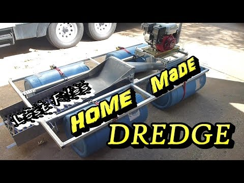 Homemade Gold Dredge – Lost Files