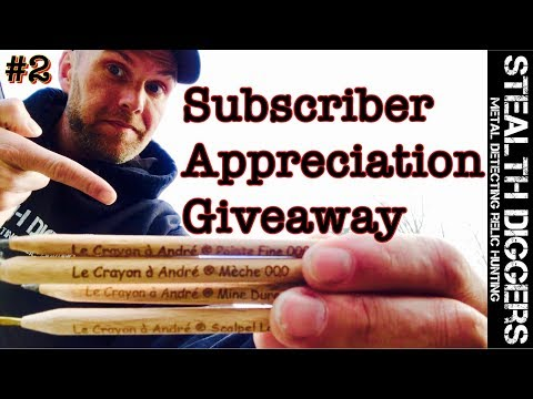 Subscriber Appreciation Giveaway #2 March 2018