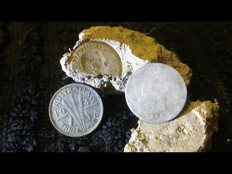 Metal Detecting Key Dates Old Sterling Silvers In Situ Live