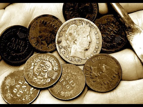 Finding LONG LOST TREASURE On The Great Plains! Metal Detecting Old Silver Coins