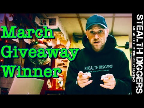March winner announced for subscriber appreciation giveaway