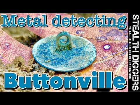 Buttonville 1700's Cellar Hole Metal Detecting Colonial Site