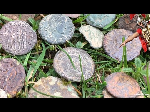 METAL DETECTING GIVEAWAY…WIN A ROMAN COIN HOARD!!!
