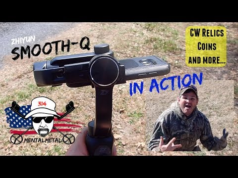 SMOOTH-Q In Action Plus CW Relics, Buttons, Coins, and MORE!