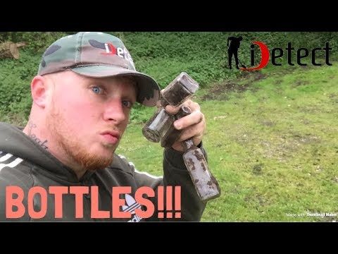 THE NEWLY CROWNED BOTTLE DIGGING KING