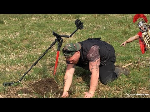 EYE POPPING ROMAN DISCOVERY…Metal detecting uk