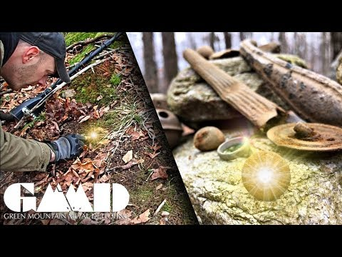 Uncovering the Secrets of the Mountain   Metal Detecting Adventure