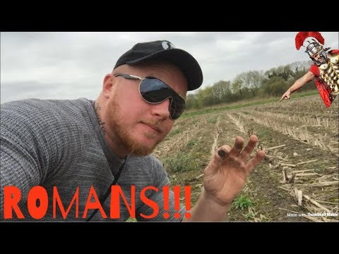 ROMANS…Metal detecting uk