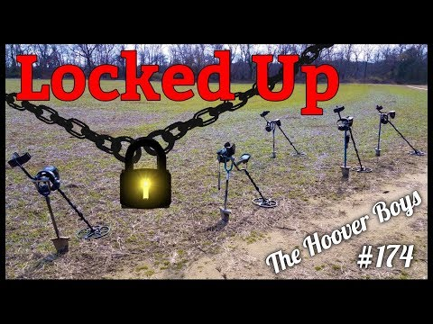 Metal Detecting is all fun & games until your friend gets Locked Up then it's Hilarious!