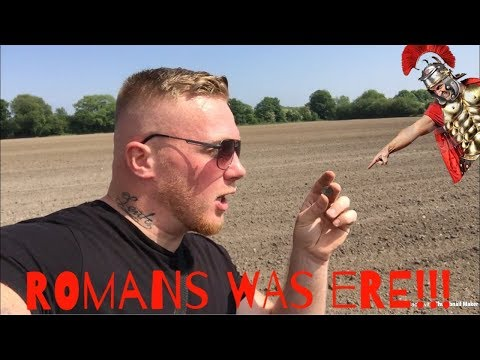 ROMANS WAS ERE !!! Metal detecting uk…