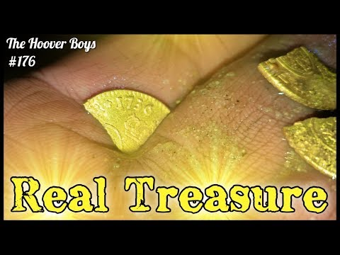 Real Treasure Found Metal Detecting Virgin Beach! Colonial Gold