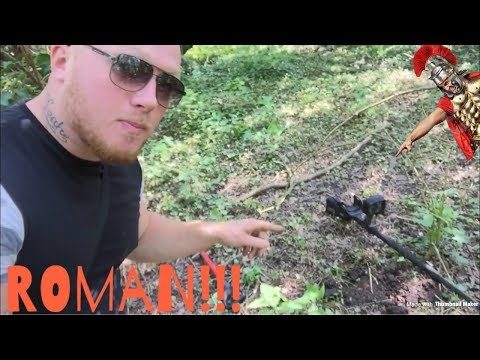 ROMAN IN THE HOLE…Metal detecting uk