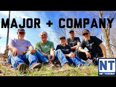 Major Company  – Friends from Stealth Digger Nation metal detecting community