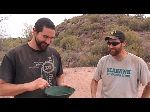 Dry Washing For Gold: Arizona Gold Prospecting