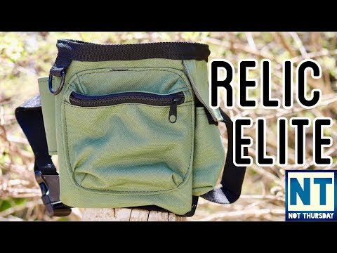 Omega Mill Relic elite pouch Metal detecting pouch review