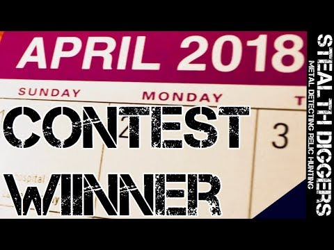 The winner for the Subscriber appreciation giveaway April 2018 – Stealth Diggers
