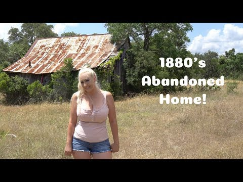 ABANDONED! 140 Year Old House!