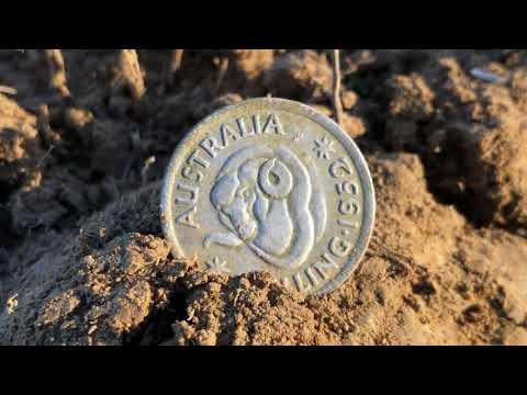 Silver Hoard Of 46 Coins Metal Detecting First Day Undetected Site Part 1