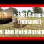 CIVIL WAR TREASURE Found at Old Campsite Metal Detecting