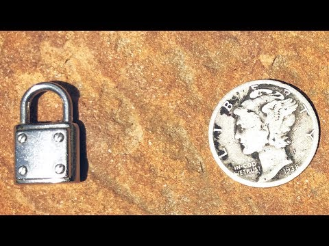 MICHEAL KORS LOCK + MAIL CALL…I was literally shaking | Metal Detecting