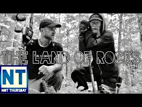 The land of rocks exploring abandoned colonial NH cellar hole