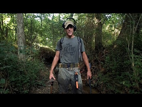 Finding Colonial Relics While Metal Detecting The Woods!