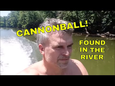Cannonball In The River Adventure!