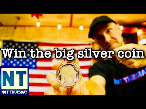 Win the big silver coin giveaway from Gold N Detectors July 2018  -Not Thursday #37 1 ounce silver