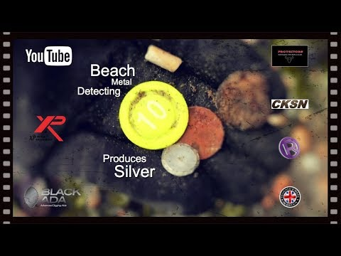 🇬🇧 YES SILVER ON THE BEACH METAL DETECTING No:272…