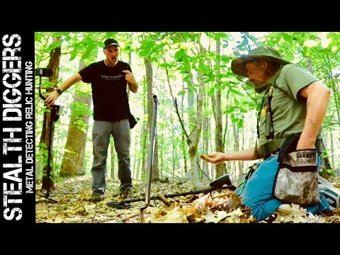 #249 Cellars best & a guest – metal detecting cellar holes in NH digging 1700s relics & Rogan USA