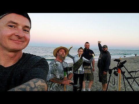 Metal Detecting Hunt #105 – Hampton Beach