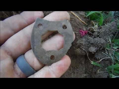 Metal Detecting an 1865 Permission