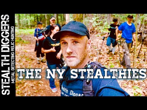 The NY Stealthies Metal Detecting NH cellar holes