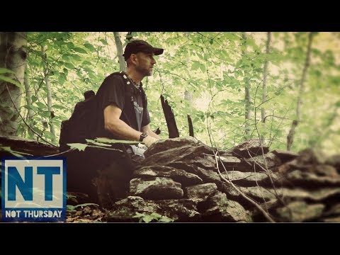 Hiking & Exploring the woods of NH in search of old colonial homesites Not Thursday #52 cellar holes