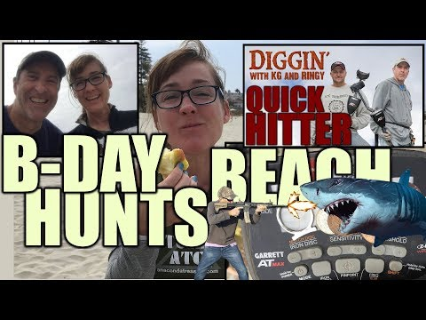 Birthday Beach Hunts with CB – DWKGR Quick Hitter