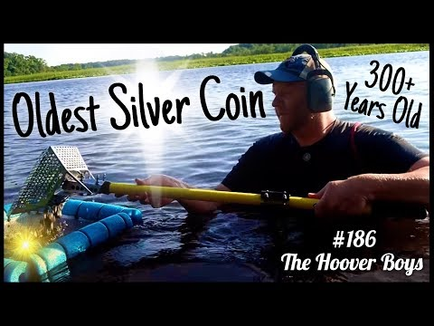 Amazing Treasure Found River Metal Detecting! My Oldest Silver Coin Ever!!