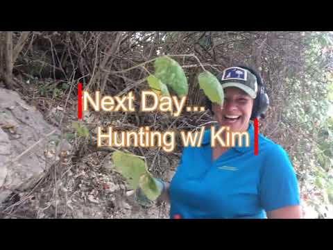 Part 1 Exploring a Dry Riverbed/ Fossils & Metal Detecting