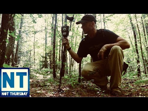 Exploring & finding abandoned homesites in the forest of NH
