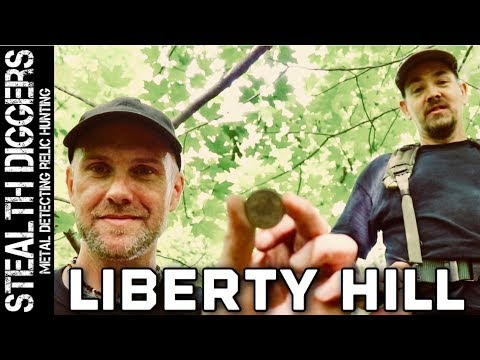 Metal detecting Liberty Hill a 1700's home #254 finding coins & relics – Garrett ATGOLD Detector