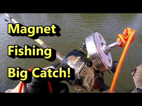 Magnet Fishing – Big Catch! Brute Magnetics