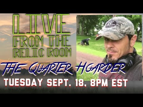 Gone Diggin Live from the Relic Room featuring The Quarter Hoarder!