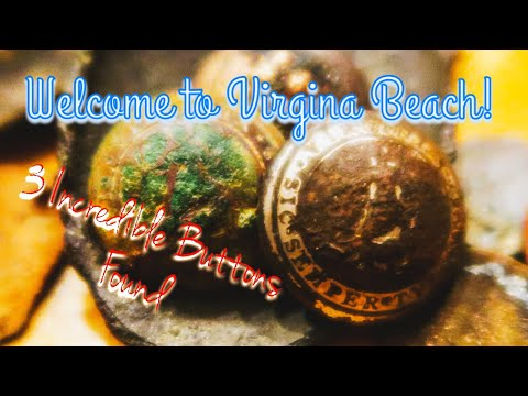 Welcome to Virginia Beach- Metal Detecting for early history