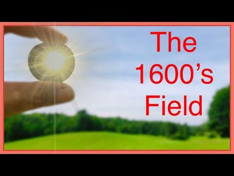 Metal detecting the 1690 farm for silver, coins, and relics!