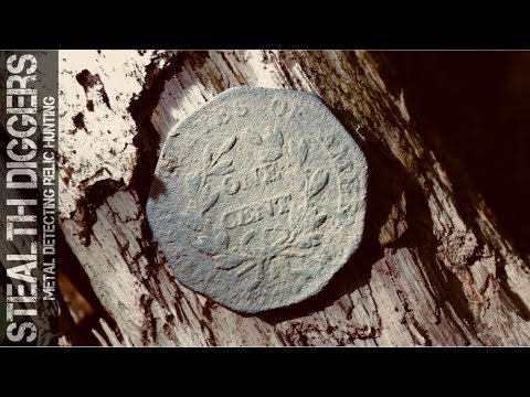 The loaded hole – tons of finds metal detecting a cellar hole in NH #258 cut Coins & relics US army