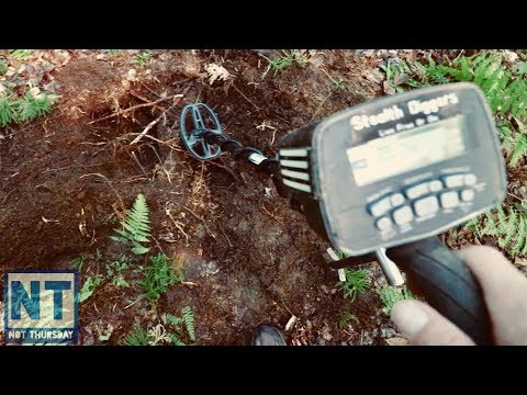 A deeper look into nails Metal detecting iron beds at cellar holes Not Thursday #66 Garrett ATGOLD