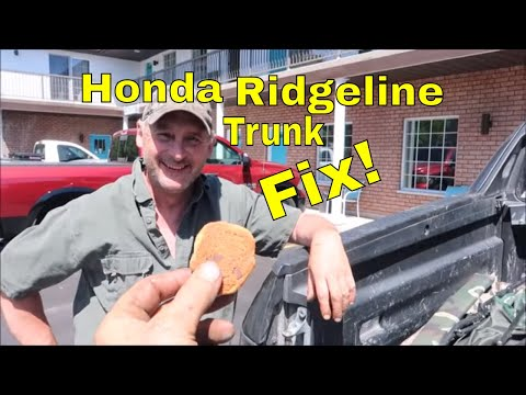 Fixing Locked Or Jammed Shut Honda Ridgeline Pickup Trunk