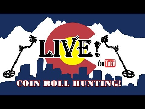 ***Coin Roll Hunting and HANGOUT *** with #5280ADVENTURES #COINROLLHUNTING #YOUTUBELIVE