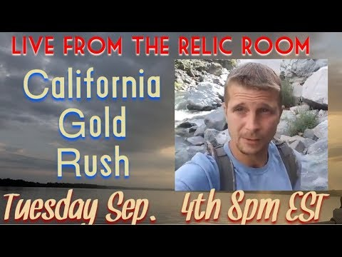 Gone Diggin Live Stream featuring California Gold Rush