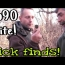 1650's site! Metal Detecting & SICK Privy dig! Relics, Bottles & Coins! Crazy hunt! WOW!