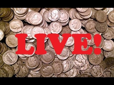 WHO WANTS TO SEARCH A BOX OF DIMES with SUBSCRIBER HANGOUT? #coinrollhunting #5280adventures